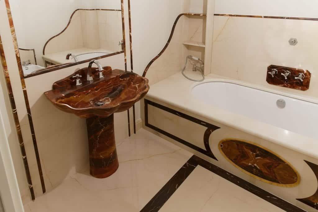 bagno in avorio di segesta e diaspro