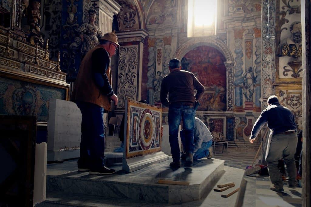 altare isnello marmi policromi cefalù 1