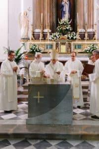 altare marmo chiesa concilio vaticano 1