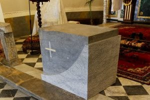 altare marmo chiesa concilio vaticano 7